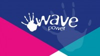 Wave power icon